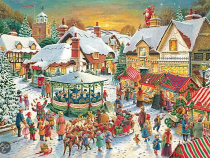 Opwarmen voor de Kerst Fair